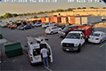 Security Camera Catches Parking Lot Incident
