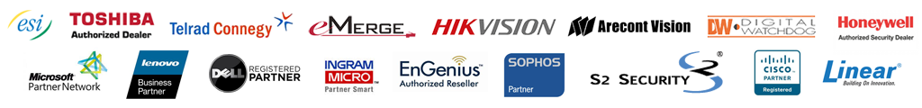 South Bay Communications & Security manufacturer partners